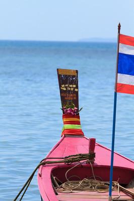 船在泰国普吉岛