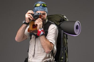 用相机旅游
