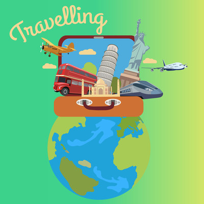 对绿色旅游真正旅游图