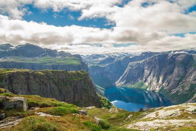 美丽的景色,从山顶