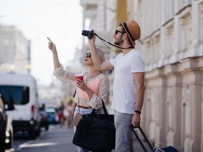 观光旅游家庭旅游度假