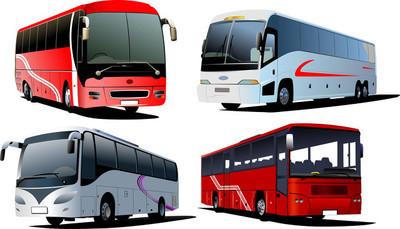四个城市公交车