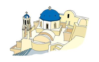 教会矢量图
