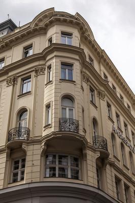 奥地利维也纳。建筑上的细节