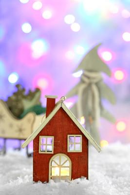 美丽的圣诞节组成