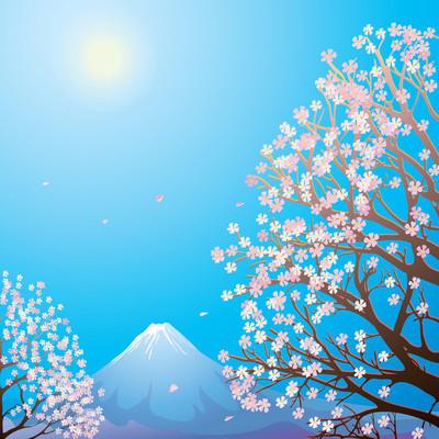 富士山风景