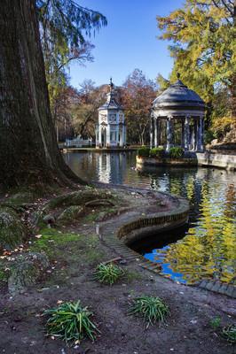 皇家园林的阿兰胡埃斯的视图