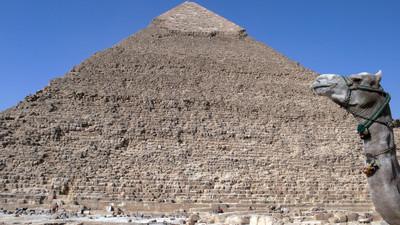 金字塔。埃及