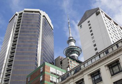 奥克兰的摩天大楼和塔