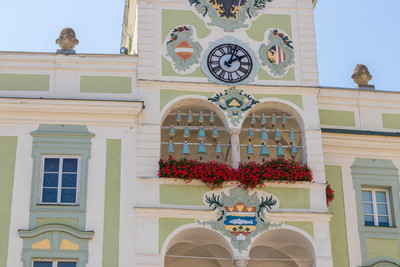 在奥地利,Traunsee Gmunden 市政厅