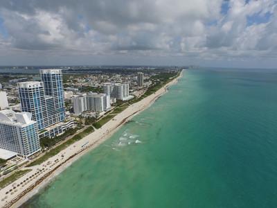 航拍图像迈阿密
