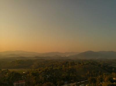 美丽的山地景观