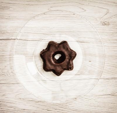 星状的姜饼 cookie,甜的食物主题