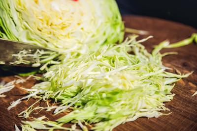 主板上的白菜,绿色卷心菜