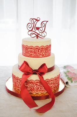 婚礼蛋糕/婚礼红蛋糕