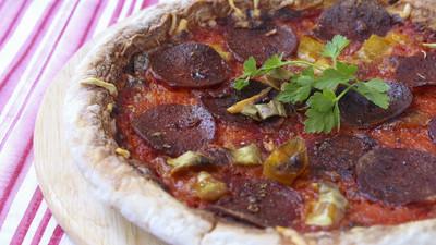 意大利辣香肠披萨