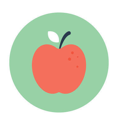 苹果矢量图