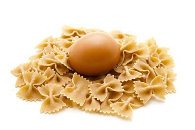在面条鸡蛋