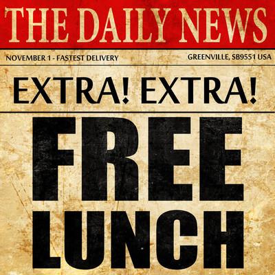 免费的午餐,报纸文章文本
