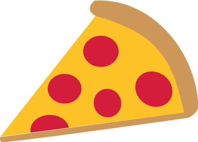 切片的比萨饼