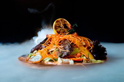 泰国锋利的蔬菜沙拉