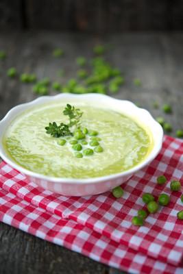 豌豆奶油奶油汤