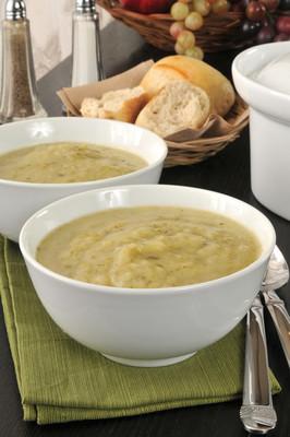 马铃薯韭菜汤