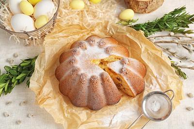 美味的复活节蛋糕
