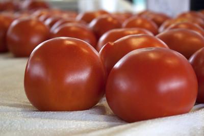 堆的西红柿