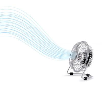 电动冷却器风扇吹的新鲜空气