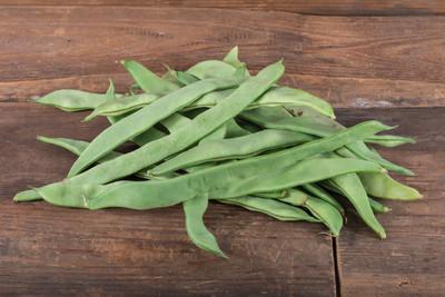新鲜平青刀豆