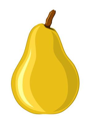 矢量图的黄梨