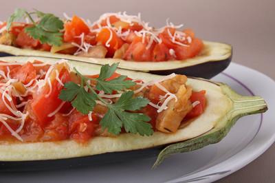 蔬菜酿的茄子