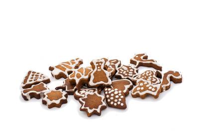 圣诞姜饼饼干