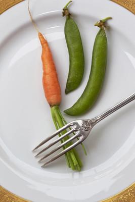 胡萝卜和豌豆