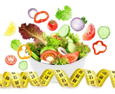 新鲜蔬菜沙拉