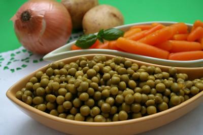 豌豆和胡萝卜