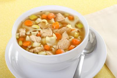 鸡肉面条汤