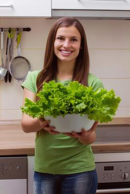绿色沙拉健康食品