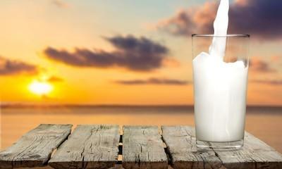 牛奶,玻璃,浇注