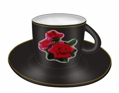 茶具。杯和克里斯托弗·索瑟