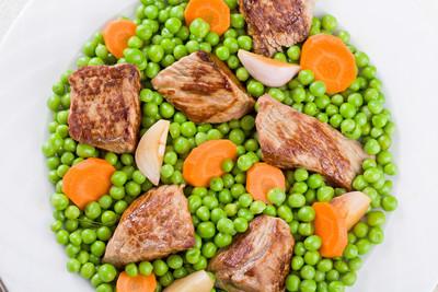 肉类和蔬菜