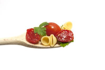 勺子与意大利面食
