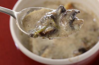 自制奶油蘑菇汤