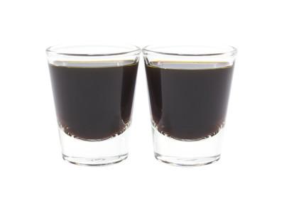 咖啡咖啡双玻璃射中