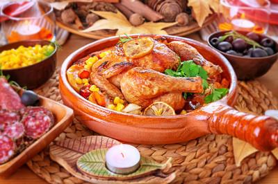 传统的感恩节晚餐