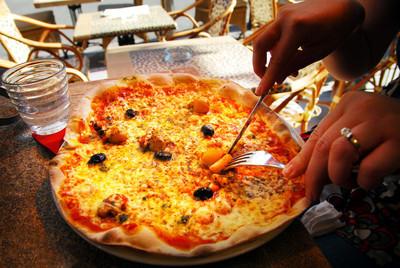 披萨的披萨店