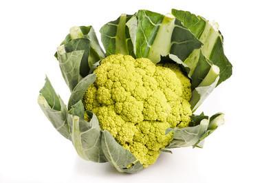 绿色有机花椰菜头
