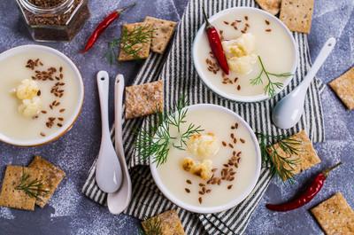 奶油花椰菜汤