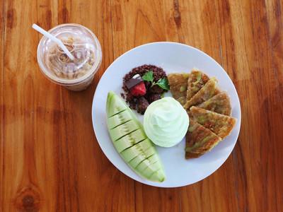 yogert 瓜配印度炒鲜瓜有好吃的甜点